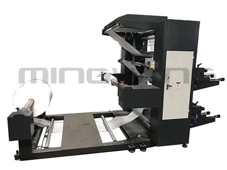 直齿-2色普通柔版印刷机