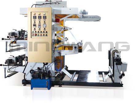 2色斜齿柔版印刷机