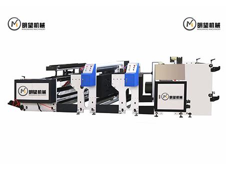 两色机组式柔版印刷机