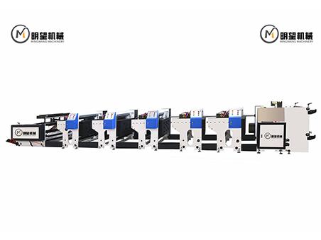 五色机组式柔版印刷机