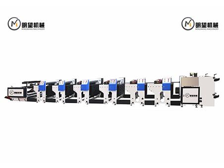 六色机组式柔版印刷机
