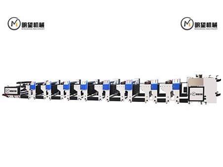 八色机组式柔版印刷机